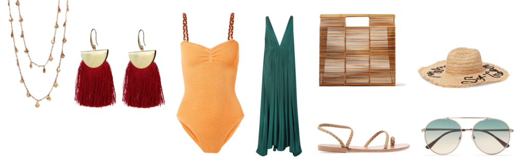 beach essentials - get the look